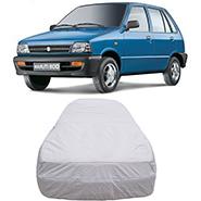 Digitru Car Body Cover for Maruti Suzuki 800 - Silver