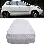 Digitru Car Body Cover for Tata Indica Vista - Silver