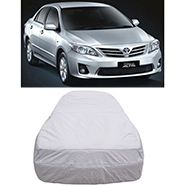 Digitru Car Body Cover for Toyota Corolla Altis - Silver