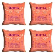 meSleep India Republic Day Cushion Cover (16x16) -EV-10-REP16-CD-004-04