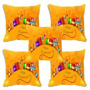 Set of 5 meSleep Digitally Printed Cushion Cover-CD-009