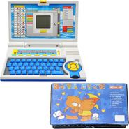 Combo of Kids 20 Activity English Learner Laptop + 42 Pcs Coloring Set