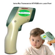 Digital Laser Point Infrared Forehead Thermometer HT-F03B