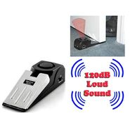 Gadget Hero's 120 dB Wedge Shaped Door Stop Burglar Alarm Block System For Security & Safety