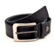 Porcupine Reversible Pure Leather Belt - Black