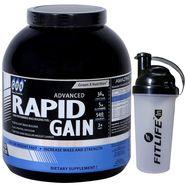 GXN Advance Rapid Gain 6 Lb (2.27kgs) Vanilla Flavor + Free Protein Shaker