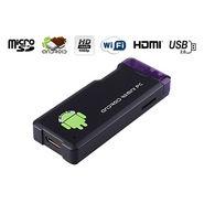 Gadget Hero MK802 (Mini Pc:Android 4:Wifi:Google Smart TV Box:1GB DDR3 RAM:4 GB HDD) - Black