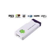Gadget Hero MK802 (Mini Pc:Android 4:Wifi:Google Smart TV Box:1GB DDR3 RAM:4 GB HDD) - White