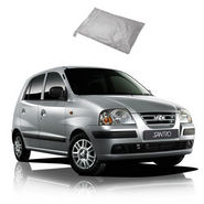 Galaxy Car Body Cover For Hyundai Santro Xing - Silver
