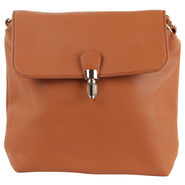 Tamirha Brown Sling Bag with Formal Look -Hb16910K