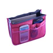 Branded Nylon Travel Organizer Ho_Magenta