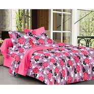 Ahem Homes Cotton Single Bedsheet with 1 Pillow Cover-HZ1204
