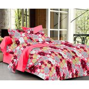 Ahem Homes Cotton Single Bedsheet with 1 Pillow Cover-HZ1205