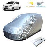 Hyundai Eon Car Body Cover - Silver