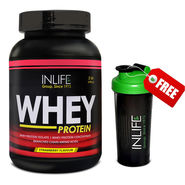 INLIFE Whey Protein 2Lb (908g) Strawberry Flavour