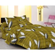 IWS Designer Cotton Printed Double Bedsheet with 2 Pillow cover- IWS-CB-54