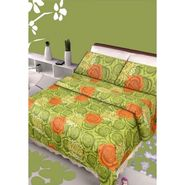 IWS Designer Cotton Printed Double Bedsheet with 2 Pillow cover- IWS-CB-82