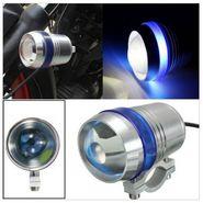 AutoSun U3 Universal Fog Projector Light For All Bikes Set Of 2 (Blue)