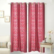 JBG Home Store Set of 2 Beautiful Design Door Curtains-JBG930_1MBLD