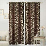 JBG Home Store Set of 2 Beautiful Design Door Curtains-JBG936_1BELD