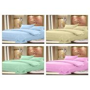 Set of 4 Designer Cotton Double Bedsheet with 8 Pillow covers - JBG_Combo3
