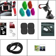 Combo of 8 Multi-Comfort Car Accessories