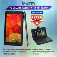 JeoTex 4G Calling Tablet with Keyboard