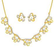 Jpearls Sitara Pearl Fashion Necklace Set - NE10796