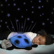 Kawachi TurtleLED Night Light Stars projector Toy - Blue