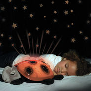 Kawachi TurtleLED Night Light Stars projector Toy - Orange
