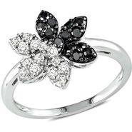 Kiara Swarovski Signity Sterling Silver Ash Ring_Kir0672 - Silver