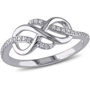 Kiara Swarovski Signity Sterling Silver Aditi Ring_Kir0793 - Silver