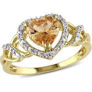 Kiara Swarovski Signity Sterling Silver Sonali Ring_Kir0795 - Golden