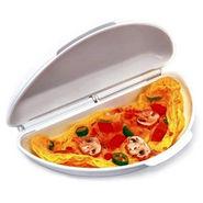 New Microwave Omelette Maker - White