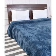 Amore Designer Printed Double Bed Fleece Blanket-KSB09
