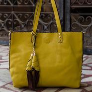 Arisha Yellow Handbag -LB 382
