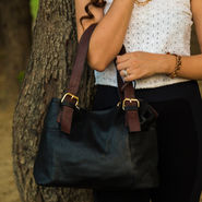 Arisha Black Handbag -LB 417