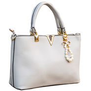 Sai Arisha PU Grey Handbag -LB506
