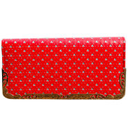 Sai Arisha PU Red Clutch -LB650