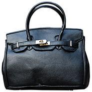 Sai Arisha PU Black Kelly handbags-LB696