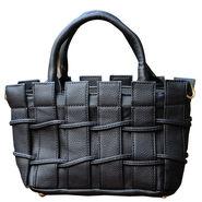 Sai Arisha PU Black Handbag -LB737