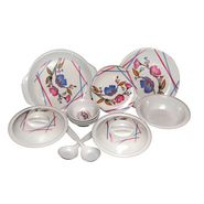Set of 32 Choice Melamine Dinner Set - Multicolor LE-CH-008