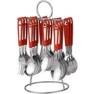 Pogo fida designer cutlery set - 25 pcs silver LE-POGO-003