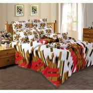 Velvet Double Bedsheet With 2 Pillow Cover-LE-VELV-002
