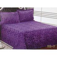 Velvet Double Bedsheet With 2 Pillow Cover-LE-VELV-010