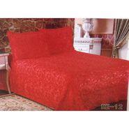 Velvet Double Bedsheet With 2 Pillow Cover-LE-VELV-011