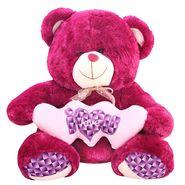 Valentine Stuff Cute Teddy Bear 60 cm - Purple