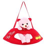 Lip Cute Bear Valentine Stuff Teddy Pink