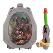 Holi Water Pichkari Back Pack Cartoon Tank Squirter F19 - Grey
