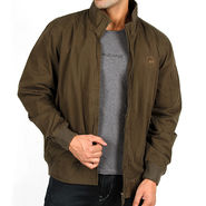 Lee Full Sleeves Cotton Jacket_Lee02 - Green
